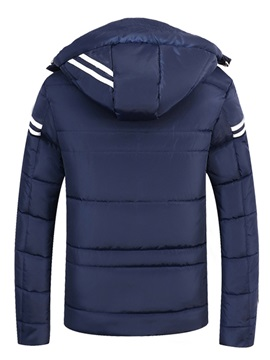 Hooded Zipper Thicken Warm Winter Men's Coat