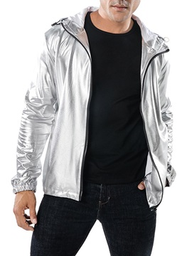 Hooded Zipper Fashion Men's Casual Jacket