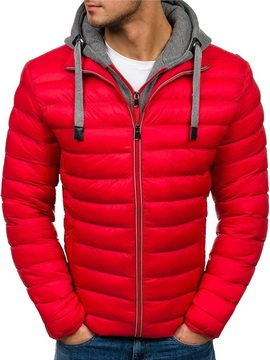 Hooded Standard Men's Down Jacket