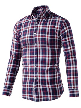 Plaid Men's Casual Shirt