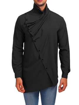 Unique Designed Asymmetric Men's Fashion Shirt