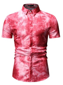 Floral Short Sleeve Men's Shirt