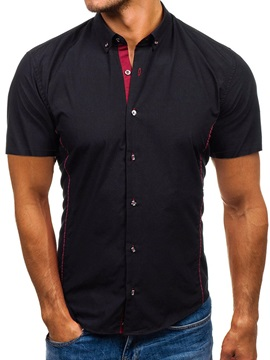 Casual Lapel Single-Breasted Men's Shirt