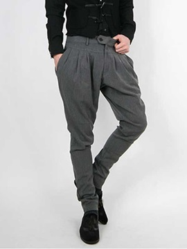 Solid Fashion Men Pants