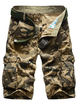 Camouflage Men's Pockets Overalls