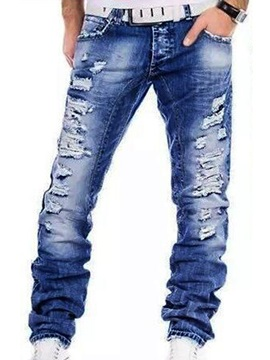 Tidebuy Straight Hole Men's Jeans