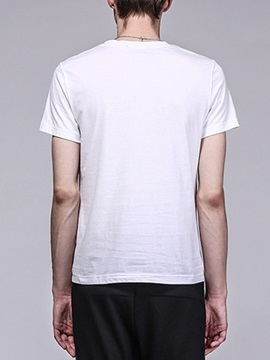 Clutter Curve Printed Short Sleeve Men's Tee