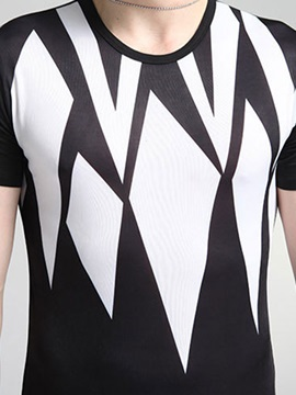 Vogue Printed Slim Fit Men's Short Sleeve Tee