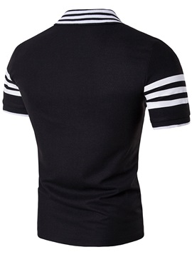 Summer Stripe Slim Fit Men's T-shirt