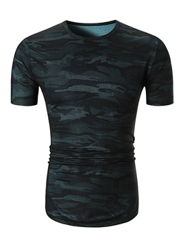 Tidebuy Camouflage Slim Fit Men's T-Shirt