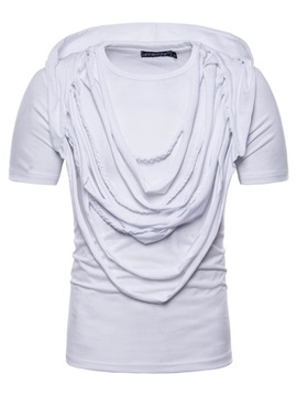 Tidebuy Stylish Design Plain Men's Short Sleeve Tee