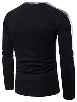 Tidebuy Long Sleeve Special Designed Men's T-Shirt