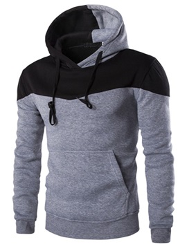 Hat Men's Two-tone Hoodie