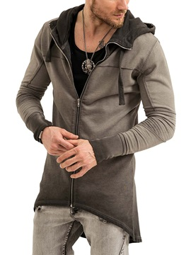 Tidebuy Hooded Mid-Length Men's Hoodie