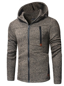 Hooded Cardigan Zipper Men's Hoodie