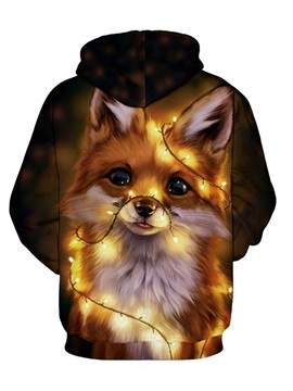 Pullover 3D Animal Spring Men's Hoodies