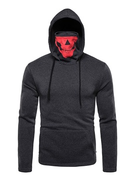 Pullover Pocket Color Block Men's Hoodies