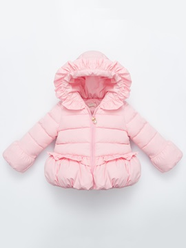Candy Color Lace-Trim Quilted Jacket