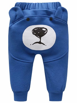 Sweet Bear Shaped Kid's Haren Pant