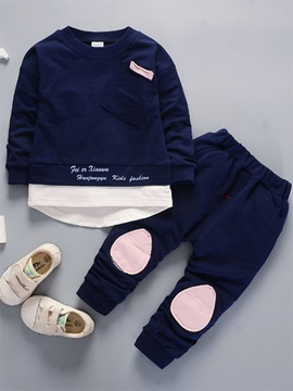 Long Sleeve And Pant Fall Baby Boy's Outfit