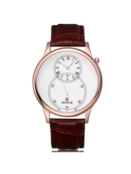 Beautiful Pu Band Men Watch