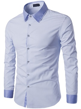 Regular Fit Slimsy Stripe Men's Casual Shirt
