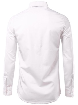 Vogue Front Print Men's Long Sleeve Shirt