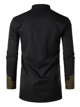 African Fashion Dashiki Print Men's Shirt