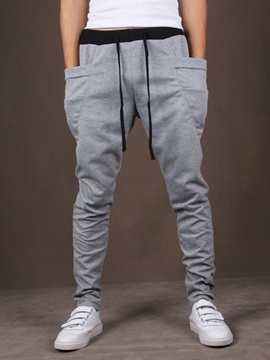 Hot Sale Fashon Drawstring Men Pants with Pockets