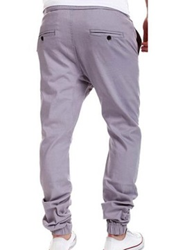 Elastics Sports Men's Casual Collapse Pants