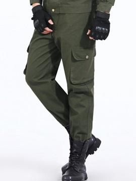 Solid Color Men's Trousers