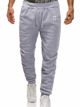 Plain Simple Print Sports Men's Casual Pants