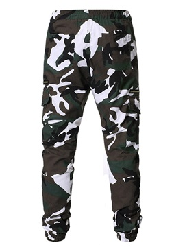 Camouflage Overall Casual Men's Casual Pants