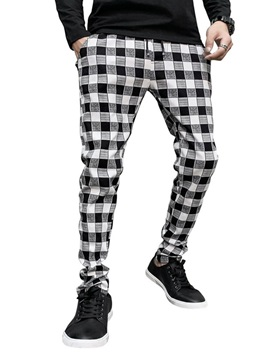 Pencil Pants Print Waist Men's Casual Pants