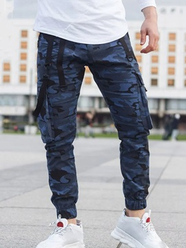 Camouflage Pencil Pants Print Casual Men's Casual Pants