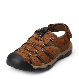 Lace-up Fisherman Sandals