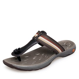 PU Thong Flat Sandals for Men