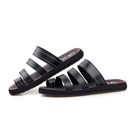 PU Ring-Toe Beach Sandals