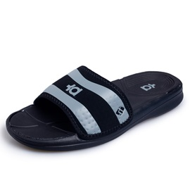 Striped Open-Toe Men's Flip-Flops