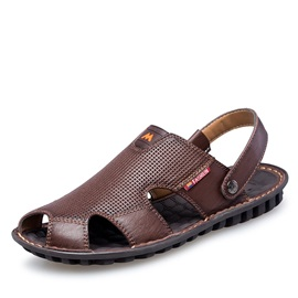 Breathable PU Slingback Men's Sandals