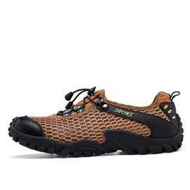 Mesh Patchwork Hiking Shoes for Men