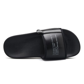 Letter Print Summer Casual Men's Slippers