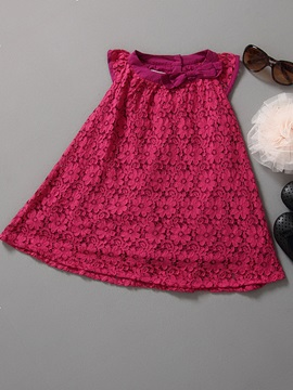 Lace Princess Girl's Dress