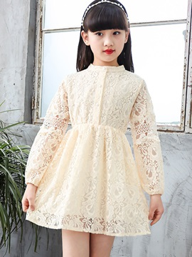 Long Sleeve Lace Princess