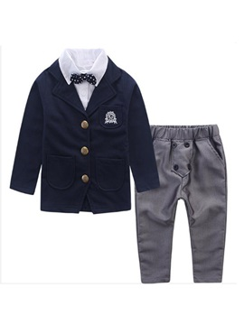 Vogue Buttoned 2-in-1 Blazer & Waistband Pant