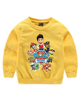 Casual Cartoon-Print Kid's T-Shirt