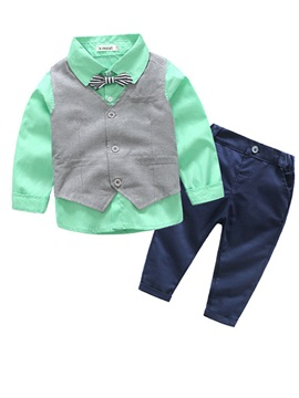 Vest & Gentleman Suits Boy's 2-Piece Outfit
