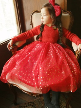 Ball Gown Ankle-Length Girl's Dress