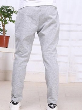 Simple Lace-Up Waitband Girl's Pant