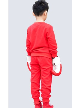 Splendid Cotton Two Pieces Set Casual Korean Boy Kid's Suit